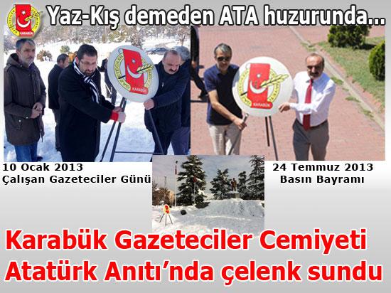 KGC Atatürk huzurunda