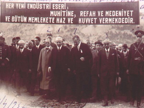3 Nisan 1937 Karabük'ün kuruluş günü