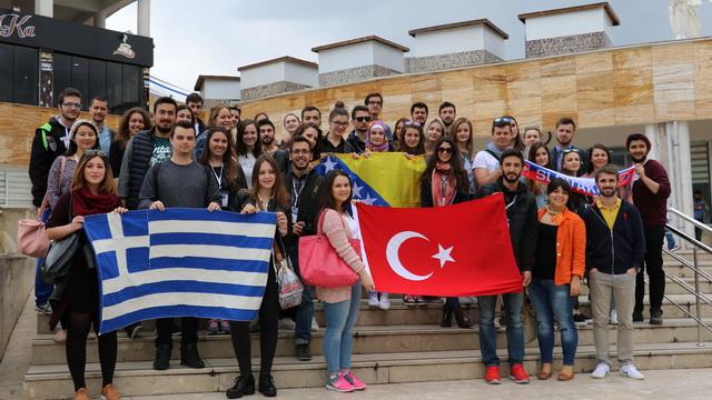 Avrupa Birliği öğrencileri KBÜ'ye hayran kaldı
