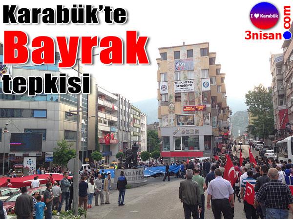 Karabük'te Bayrağa Saygı Yürüyüşü