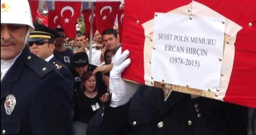 Karabük Şehit Ercan Hırçın'ı uğurladı