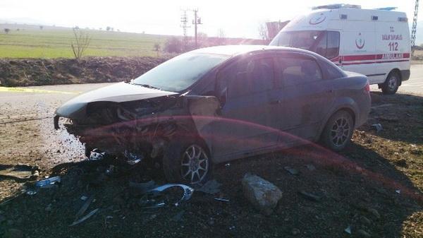 Karabük'te Trafik Kazası: 1 Ölü 1 Yaralı