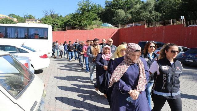 Karabük'te FETÖ Operasyonu: 18 kişi Adliye sevk edildi