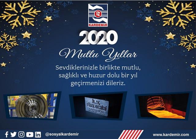 Kardemir A.Ş Yeni Yıl Mesajı