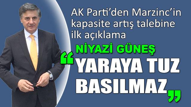 AK Parti'den ilk Marzinc açıklaması