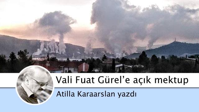 Karabük Valisi Fuat Gürel'e açık mektup